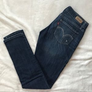 Levi's 524 Too Superlow Skinny Jeans 7M